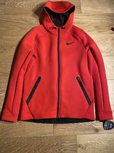 Nike Tech Therma Sphere Max Full-Zip Hoodie 688475-657 Red SZ Large $185