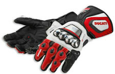 Ducati Motorbike Leather Motogp Riding Gloves All Sizes Available