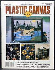PLASTIC CANVAS CORNER Magazine • November 1995 • 19 Projects