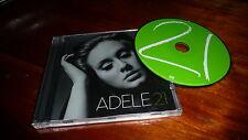 ADELE 21 - CD ALBUM  - FAST/FREE POSTING.