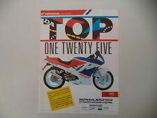 advertising Pubblicità 1989 MOTO HONDA NSR 125 R