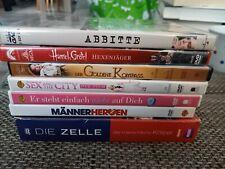 DVD-Sammlung- 7 Filme Damen Jugend Kinder Filme Sachfilm neuwertig