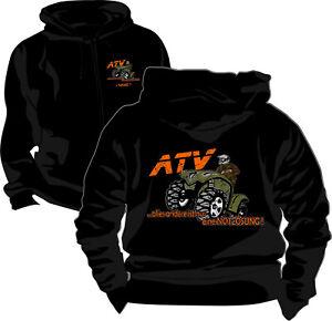 Quad ATV Kapuzenpullover Kapuzen Pullover Logo Jacke Wunschname Kulturerbe 23