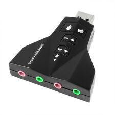 Spinotto da 3,5 mm USB 2.0 al 3D Virtual Audio Sound Card Adapter 7.1 CH G6R7