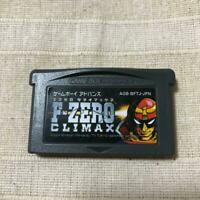 F-ZERO CLIMAX GBA Nintendo Gameboy Advance Only software from Japan USED