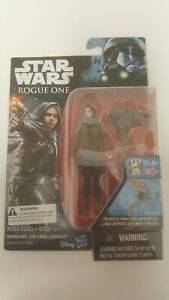 Star Wars Rogue One Jyn Erso (Jedha) 3.75 Inch Action Figure Sealed MIB