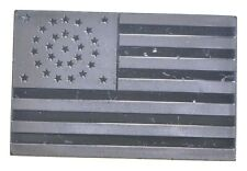 11th U.S. Flag Sterling Silver Art Bar - .925 - 73 Grams - *229