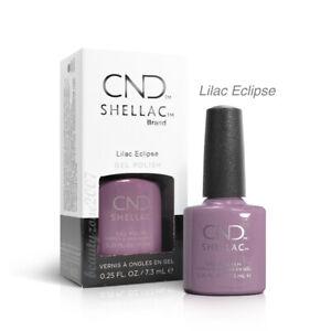 CND Shellac UV Gel Nail Polish - Lilac Eclipse 0.25oz