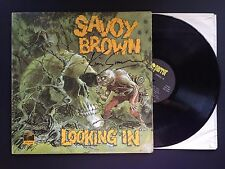 SAVOY BROWN Looking In PAS 71042  AUTOGRAPHED VINYL RECORD LP