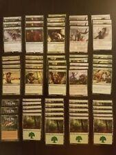 MTG Elf Ramp Deck - Mono Green - Magic the Gathering - Custom Deck