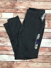 University of Washington Huskies Men's Large Gray Jogger Sweatpants Champion