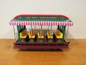 Disney Disneyland Resort Railroad Train Passenger Car G Scale