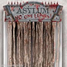 1.4m Halloween Surgery Horror No One Leaves Door Doorway Curtain Decoration