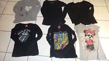 superbe lot de 6 tee shirt avec et sans manche EDC by esprit hippie 100% coton