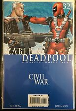 Cable and Deadpool (Vol 1) #32 VF+ 1st Print Free UK P&P Marvel Comics