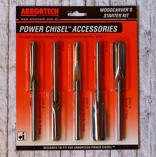 Schnitzmeißel 5-teiliges Set für Arbortech Power Chisel Tool