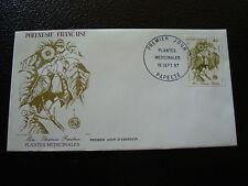 POLYNESIE FRANCAISE enveloppe 1er jour 16/9/1987 (cy14) french polynesia