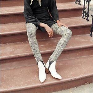 Free People Women's High Rise Primal Stirrup Leggings Size XS