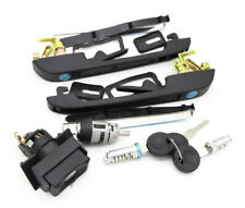 Complete Ignition Set For VW Golf 2 83-92 Polo Jetta Lock Door Tailgate Handle