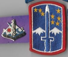 172nd INFANTRY BRIGADE - COLOR PATCH AND DI CREST