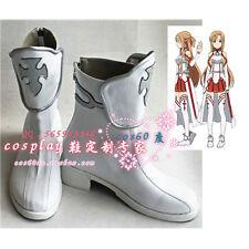 Sword Art Online Asuna Yuuki cosplay Boots Shoes S008
