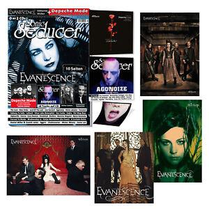 LIMITED Sonic Seducer 05-2021 +exkl. Evanescence Sticker + Poster-Bundle + 2 CDs