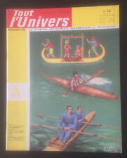 Collection revue Tout l'Univers original Editions Hachette n°12 du 10/01/1962