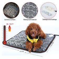 Pets Dog Cat Warmer Bed Heating Warming Blanket Electric Heat Pad Mat Waterproof