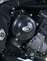 R/&G Racing Left Hand Engine Case Cover to fit Triumph Speed Triple R 2008-2013