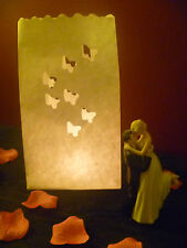Candle Bags Butterfly Luminary Lantern Wedding Party Decorations (50  bags Bulk)