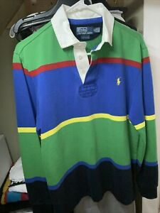 Polo Ralph Lauren Rugby Size M Custom Fit