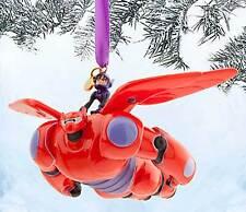 Disney Store Authentic  Hiro and Baymax Mech Sketchbook Ornament - Big Hero 6
