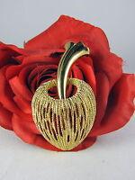 Vintage Monet Gold tone Elegant Pin Brooch  CAT RESCUE