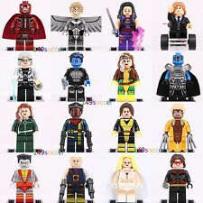 16ps Apocalypse X-MEN Minifigures Nightcrawler Shadowcat Magneto Angel Lego