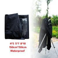 New Dark Focusing Cloth Rainproof  for 4X5 5X7 8x10 Film Cameras Black 150cm