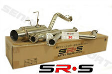 SR*S CATBACK EXHAUST SYSTEM 92-00 CIVIC 2/4DR 93 94 95