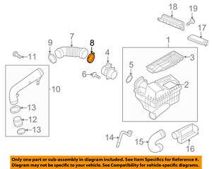 VW VOLKSWAGEN OEM 05-16 Jetta Air Cleaner Intake-Connector Pipe Clamp N90656501