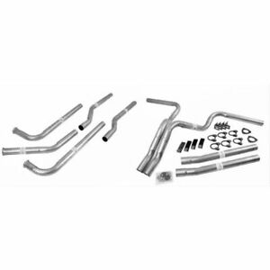 Dynomax 89006 Exhaust Dual Kit Manifold-Back Steel Aluminized For Chevy GMC NEW