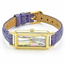 Chopard 18K Yellow Gold Abalone Diamond Dial Watch Women's Hand Wind
