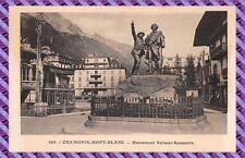 Carte Postale - Chamonix-Mont-Blanc - Monument Balmat-Saussure