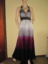 Petite Sleeveless Silk Full Length Dresses for Women