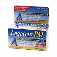 Legatrin PM Caplets 50 Caplets (Pack of 2)
