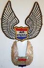 Rare Badge and Patch - AIR AMERICA - CIA - YANKEE AIR PIRATES - Vietnam War - XX