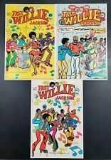 Fast Willie Jackson #1 (1976 Fitzgerald Periodicals) #2 & 3 HTF Comics VG+
