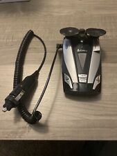 Cobra XRS 9430 360 Laser Radar Detector with car charger and suction clip