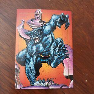 1992 Marvel Masterpieces: Series 1 (SkyBox) BEAST #7 NM-M