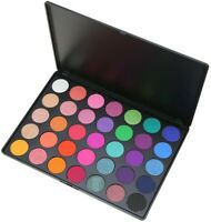 LittleTouch Professional 35 Rainbow Eyeshadow Pallet Colour  (Glitter shimmer)