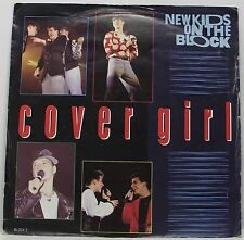 "NEW KIDS ON THE BLOCK Cover Girl 7"" Single Picture Sleeve 45rpm Vinyl Excellent"