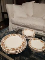 English Garden by ROYAL China Jeannette 16 Pieces Rare!