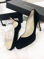 Hobbs Marcia Platform Fine Black Suede Courts Pumps Shoes EU 38 UK 5 NEW £149